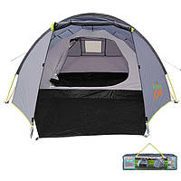 Палатка 4-х местная GreenCamp 900, автомат, фото 1