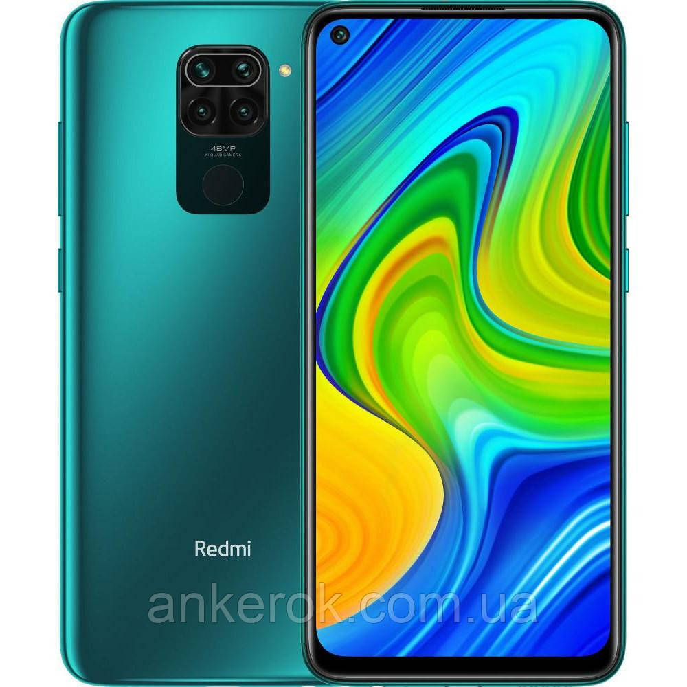 Смартфон Xiaomi Redmi Note 9 3/64GB no NFC Global (Forest Green)