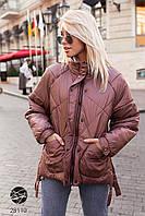 Дутая стёганная куртка Разные цвета