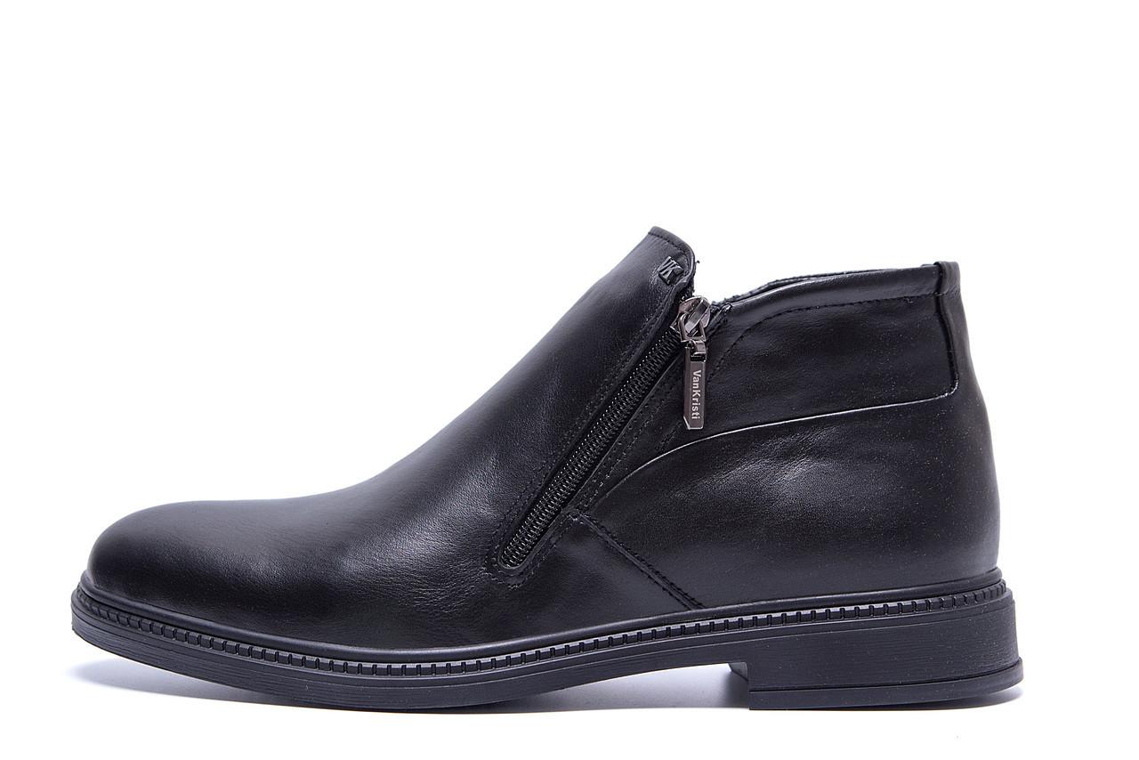 Мужские  зимние кожаные ботинки натуральной кожи VanKristi  р. 41