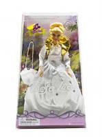 """Кукла """"Defa Lucy"""" с сумкой (в белом платье), DEFA, куклы,игрушки для девочек,детские игрушки"""
