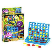 """Игра логическая mini """"4 в ряд"""", логические игры,детская настольная игра,игрушки для малышей,развивающие"""