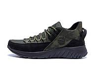 Мужские  зимние кожаные кроссовки   icefield  Olive Classic р.  41 42 43 44, фото 1