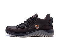 Чоловічі зимові шкіряні кросівки icefield Chocolate Classic р. 40 41 42 43 45, фото 1