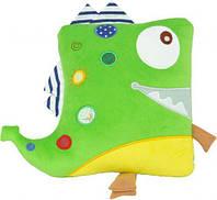 "Подушка - динозаврик ""Фанни"", TIGRES, декоративная подушка,Игрушки новые"