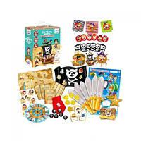 """Набор для праздника """"Пиратская вечеринка"""" (укр), Vladi Toys, развлекательные игры,детская настольная"""