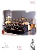 Кровать на заказ кованая