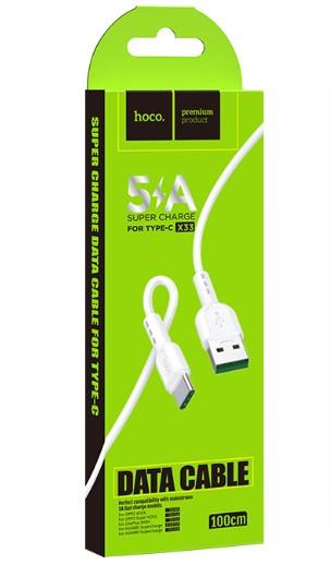 USB-Кабель HOCO X33 Type-C Surge 1м 5A