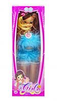 """Музыкальная кукла """"Модница"""" (в голубом платье), куклы,игрушки для девочек,детские игрушки,пупс"""