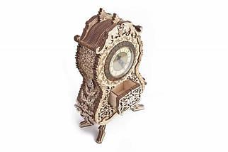 Вінтажні годинник Wood Trick (134 деталі) - механічний дерев'яний 3D пазл конструктор, фото 2