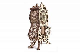Вінтажні годинник Wood Trick (134 деталі) - механічний дерев'яний 3D пазл конструктор, фото 3