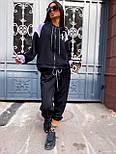 Женский спортивный костюм прогулочный кофта с надписью и штаны - джоггеры (р. 42-46) 5051121, фото 5