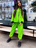 Женский спортивный костюм прогулочный кофта с надписью и штаны - джоггеры (р. 42-46) 5051121, фото 6