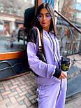 Женский спортивный костюм прогулочный кофта с надписью и штаны - джоггеры (р. 42-46) 5051121, фото 9