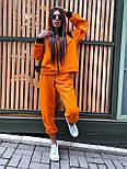 Женский спортивный костюм прогулочный кофта с надписью и штаны - джоггеры (р. 42-46) 5051121, фото 10