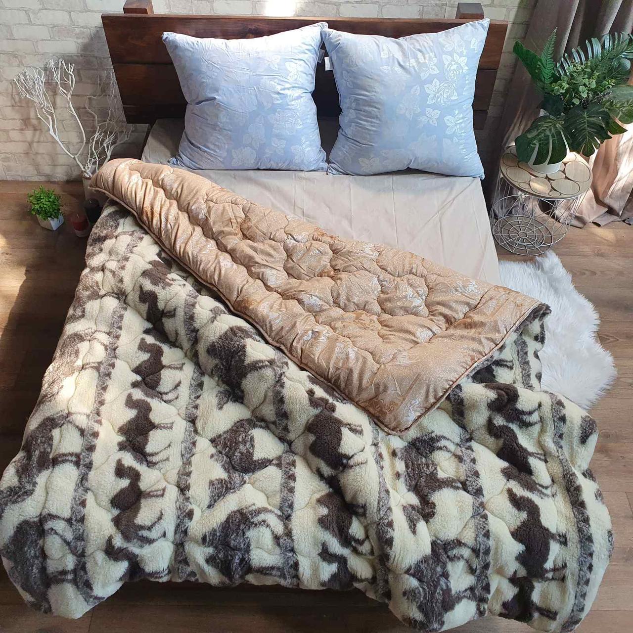 Одеяло Коттон плюс мех