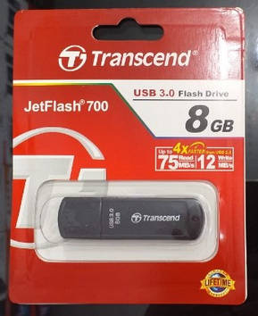 Флеш-накопитель TRANSEND 8GB 3.0