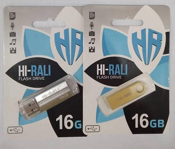 Флеш-накопитель Hi-Rali 16GB микс