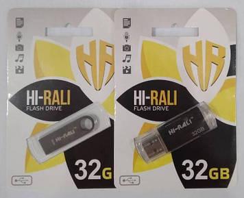 Флеш-накопитель Hi-Rali 32GB микс