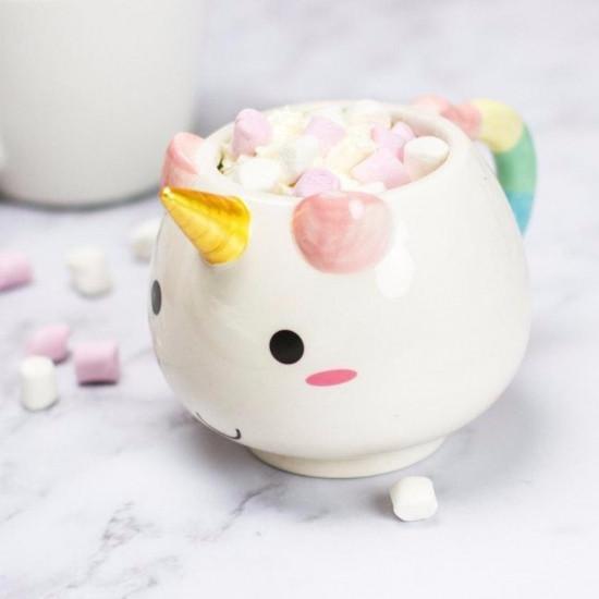 Керамическая чашка Единорог
