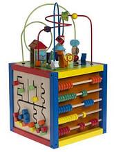 Розвиваючі дерев'яні іграшки