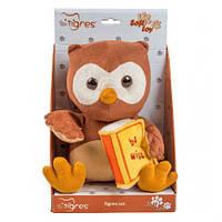 """Мягкая игрушка """"Сова с книгой"""", TIGRES, мягкие игрушки,животные резиновые,игрушка мир животных"""