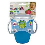 Поильник-непроливайка Munchkin Miracle 360 207 мл голубой (01209401.01), фото 3