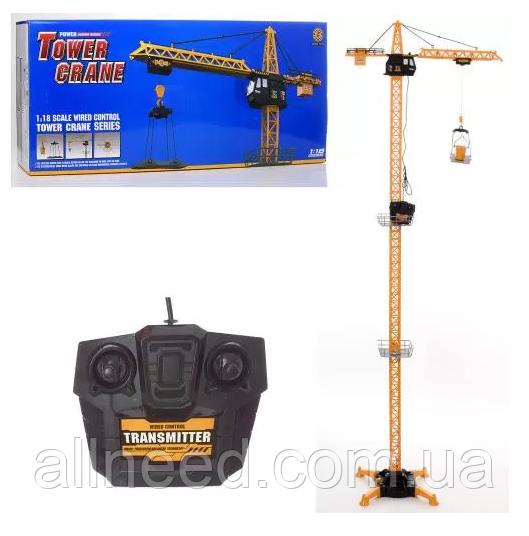 Іграшковий кран 6390-3 на бат-ке.