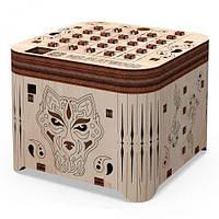 "Деревянный конструктор ""Шкатулка. Тайна тигра"", 89 эл, Mr.Playwood, деревянный конструктор,деревянные игрушки"