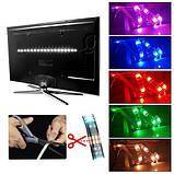 LED RGB 2м лента подсветки ТВ с пультом д/у, USB, фото 2
