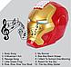 """Копилка-сейф детская электронная с кодовым замком и купюроприемником  iron man """"шлем железного человека"""", фото 5"""