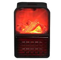 Обогреватель с имитацией камина портативный Flame Heater 6730