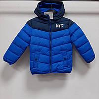 Демисезонная детская куртка C&A на мальчика рост 98
