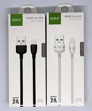 USB-Кабель GOLF GC-63 iPhone 1м