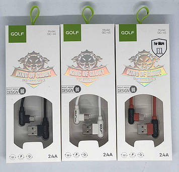 USB-Кабель GOLF GC-45 Micro 1м