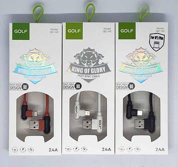 USB-Кабель GOLF GC-45 iPhone 1м
