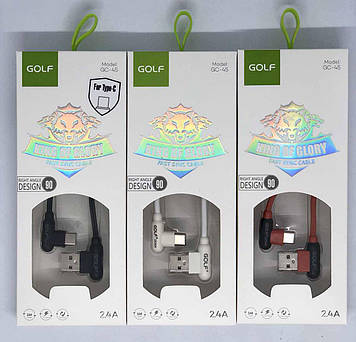 USB-Кабель GOLF GC-45 Type-C 1м