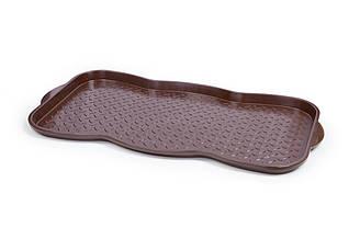 Поддон для обуви Berossi 76х38х3 см шоколадный