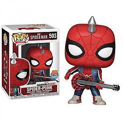 Фигурка Funko Pop Фанко Поп Человек Паук Паук Панк Spider Man Spider Punk 10 см SM SP 503