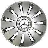 "Колпаки 15"" REX Mercedes Sprinter серые, фото 2"