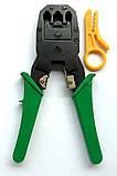 Набор сетевика обжимка тестер 100 rj45 коннектор, фото 5