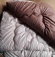Полуторное одеяло зимнее 145х210 АРДА холлофайбер -микрофибра разные цвета