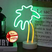 Неоновый светильник Пальма, ночник, лампа неоновая Новинка 2021