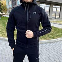 Утеплений чоловічий спортивний костюм Black Project, фото 1