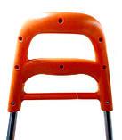 Тачка сумка с колесиками кравчучка 96см MH-1900 оранжевая, фото 5