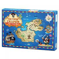 """Настольная игра """"Остров сокровищ"""", Ранок, игрушки для малышей,детские развивающие настольные игры,детские"""