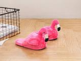 Домашние тапочки Фламинго pink, фото 2