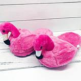 Домашние тапочки Фламинго pink, фото 4
