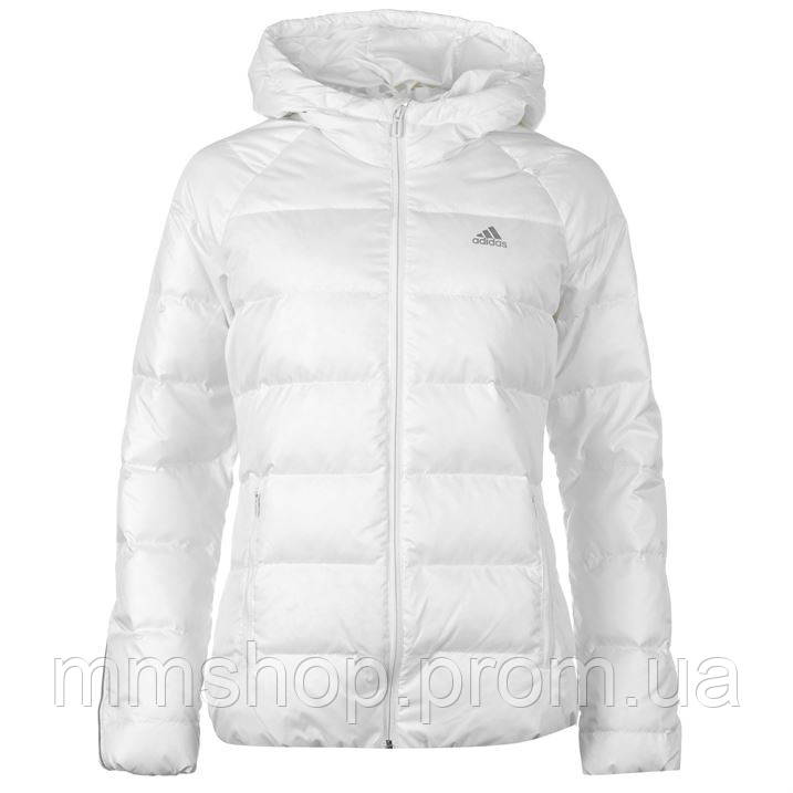 ec7116a35ad9 Пуховик женский Adidas Cosy белый - Интернет-магазин