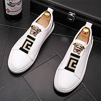 Модне чоловіче взуття повсякденне взуття, британські чоловічі лофери